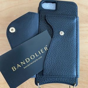 BANDOLIER iPhone 8/7/6 Leather Case, no strap